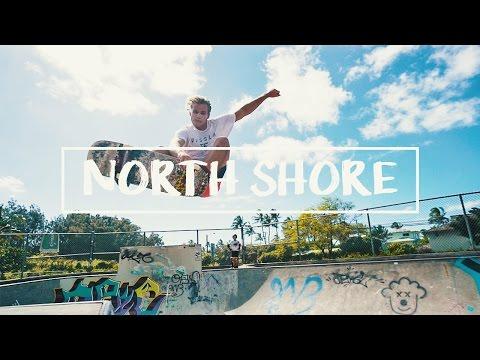 HAWAII: NORTH SHORE SKATEPARK!!