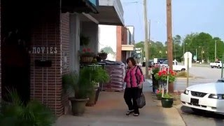 Ninety Six,SC town,stores & historic homes.
