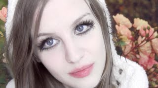 How to get Bigger Eyes and Pouty Lips Makeup Tutorial- KIKI KANNIBAL