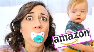 TESTING WEIRD AMAZON BABY PRODUCTS! again...