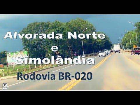 Rodovia BR-020 | Alvorada do Norte e Simolândia | Goiás | Brasil