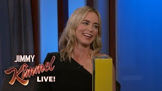 Emily Blunt on Daughter's Reaction to Mary Poppins