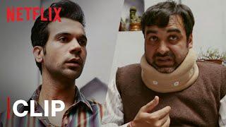 Rajkummar Rao Fixes Pankaj Tripathi's Neck | Funny Scene | Bareilly Ki Barfi | Netflix India