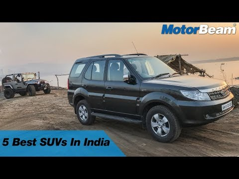 Top 5 SUVs In India - No Fake SUVs Here | MotorBeam