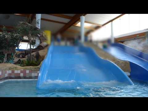 blaue Breit-Wellenrutsche   Arriba Norderstedt