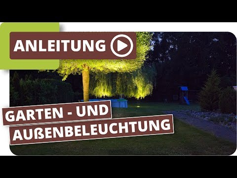 planeo Lichtsystem Gartenbeleuchtung mit LED Außenleuchten