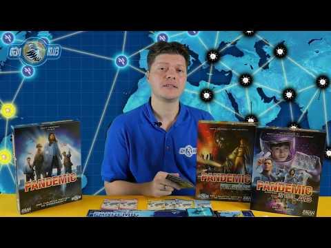 Pandemic társasjáték szabálymagyarázat - Gémklub