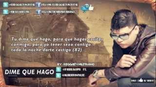 Dime Que Hago  Farruko (letra 2012)