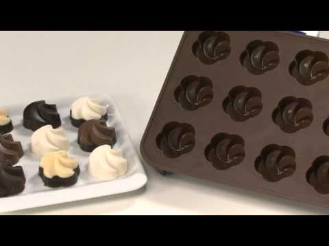 Video de uso: Moldes de chocolate Delícia Silicone