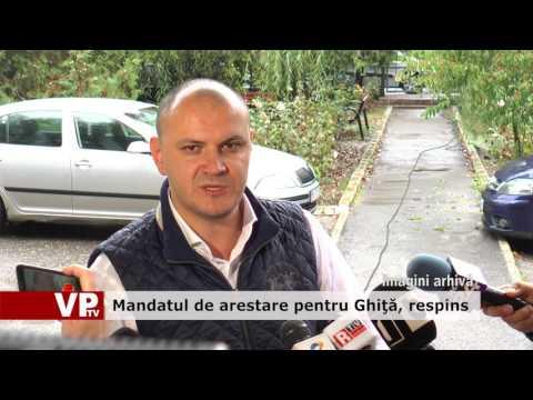 Mandatul de arestare pentru Ghiţă, respins