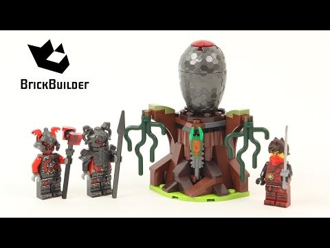 Vidéo LEGO Ninjago 70621 : L'attaque des guerriers Vermillion