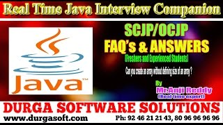 Java Interview Companion|| SCJP/OCJP||Can you create an array without defining size of an array?