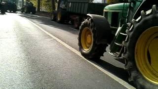 preview picture of video 'Manifestation d'agriculteurs à Bourges'
