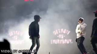 Detroit vs Everybody Live in Detroit (Eminem,Big Sean, Royce)