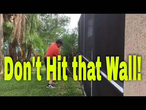 Indoor Golf Drills - Outside to Inside Path Obstacle Drill