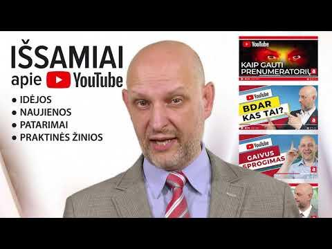 Vaizdo pamokos apie pinigų uždirbimą internete