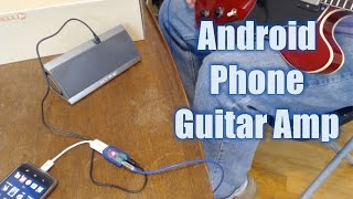 Build A Portable Amp From Your Android Phone