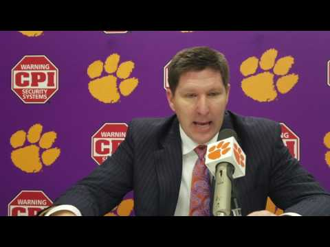 TigerNet.com - Brad Brownell post Syracuse