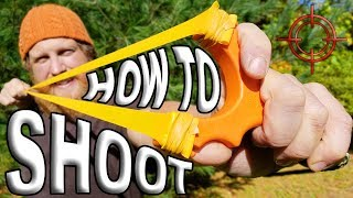 How To Shoot A Slingshot By Zachary Fowler (Slingshot How To Ep.1)