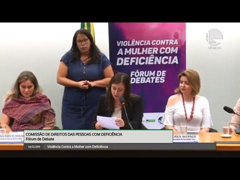 Direitos das Pessoas com Deficiência - Violência Contra a Mulher com Deficiência - 04/12/19 - 15:26