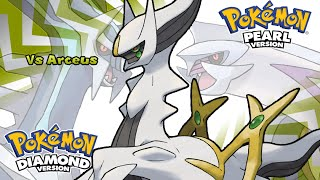 Pokemon Diamond/Pearl/Platinum - Battle! Arceus Music (HQ)