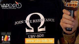 l'UBV : l'Union Belge pour la Vape.