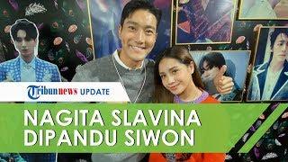 Sangat Beruntung! Nagita Slavina Dipandu Siwon Super Junior saat Wisata di SMTown Korea Selatan