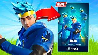 New NINJA Skin! (Fortnite Battle Royale)