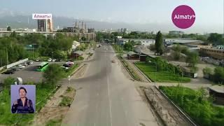Нурсултан Назарбаев осмотрел реконструированные улицы Алматы (04.09.18)