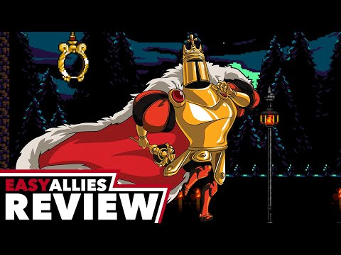Shovel Knight: King of Cards - Easy Allies Review - YouTube video thumbnail