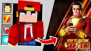Minecraft Adventure - HOW TO BECOME SHAZAM!!