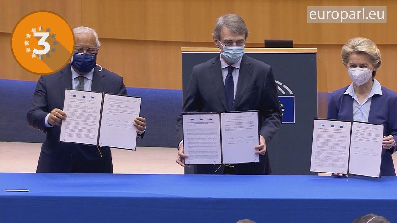 Η εβδομάδα που πέρασε στην Ολομέλεια του ΕΚ:  Μέλλον της Ευρώπης, EU4Health, InvestEU…