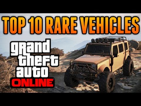 GTA 5 - Top 10 Rare & Secret Vehicles Online - Best Rare & Secret Cars Online Locations!