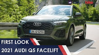 2021 Audi Q5 Facelift: First Look