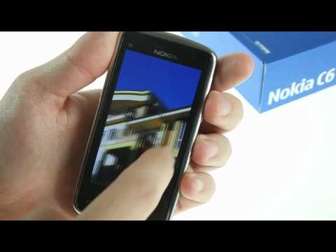Nokia C6-01 user interface demo video