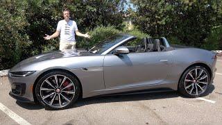 The 2021 Jaguar F-Type R Is a 575-Horsepower Monster
