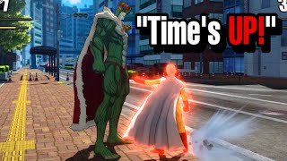 I Let Him Hit Saitama For 1 Minute To See What Happens! OPM Closed Beta