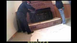 Dangerous fireplace insert #1