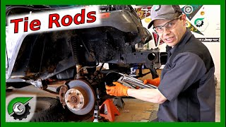 COMPLETE Tie Rod Replacement: How To Jeep Wrangler YJ