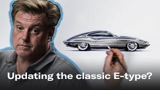 Chip Foose Reimagines The Iconic Jaguar E-type | Chip Foose Draws A Car - Ep.5