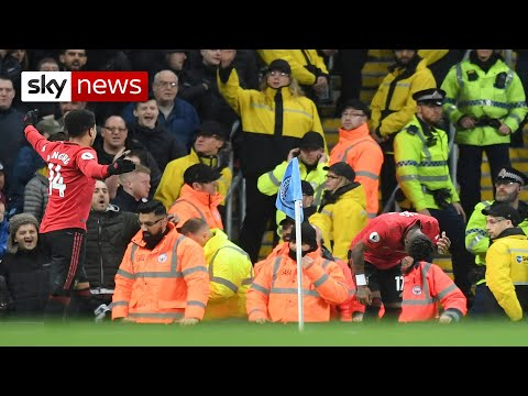 Man arrested over 'racist abuse' at Manchester derby