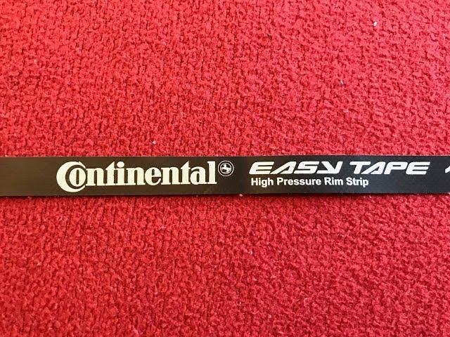 Видео Ободная лента Continental Easy Tape Rim Strip 24-584 (2 pcs)