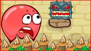 Frizzle Fraz игра как красный шарик в  Red ball игра как мультик для детей