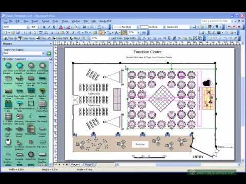 Event Layout Software Demo