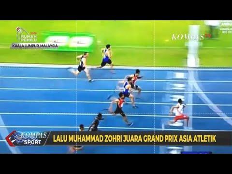 Lalu Muhammad Zohri Juara Grand Prix Asia Atletik