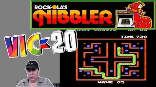 Vic-20 NIBBLER - New Arcade Conversion the 1st 8 Waves