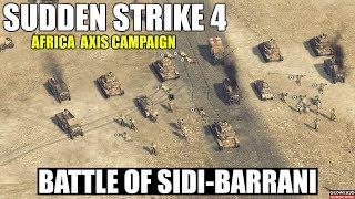 Sudden Strike 4 Africa Desert DLC   Axis Campaign   Battle of Sidi-Barrani