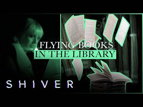 Spirit Throws Books Upon Request - Most Haunted