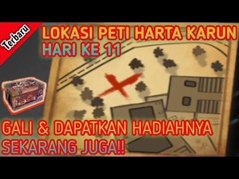 Inilah Lokasi Peti Harta Karun Hari Ke 11 - Free Fire Indonesia