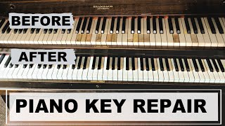 PIANO KEY REPAIR DIY